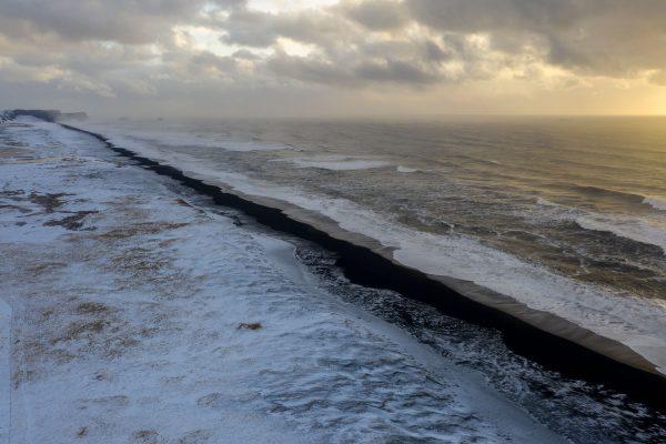 Strand an der Südküste von Island