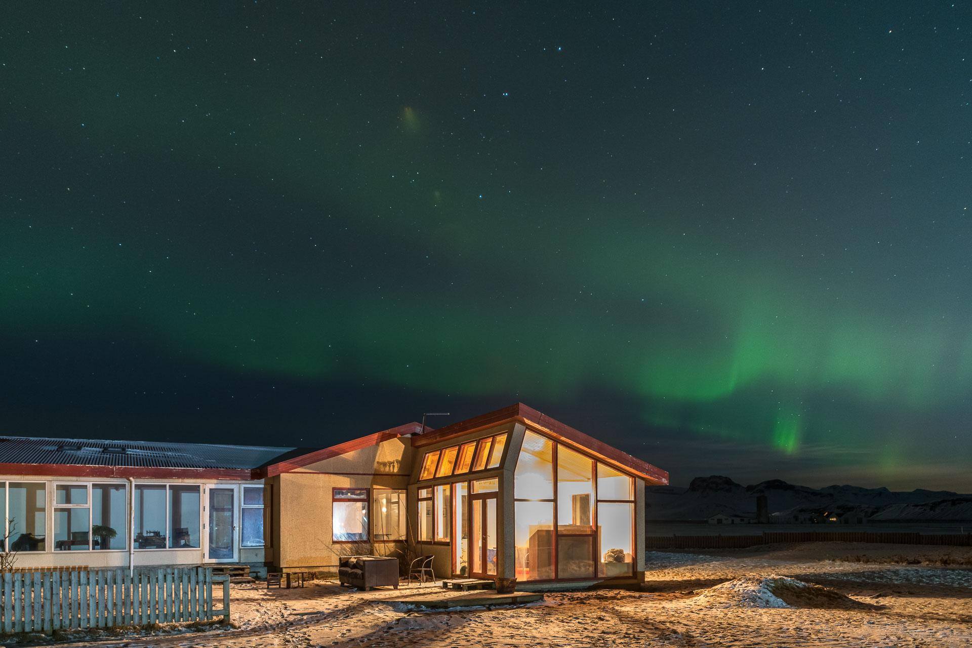 Mein Zuhause unter dem Nordlicht