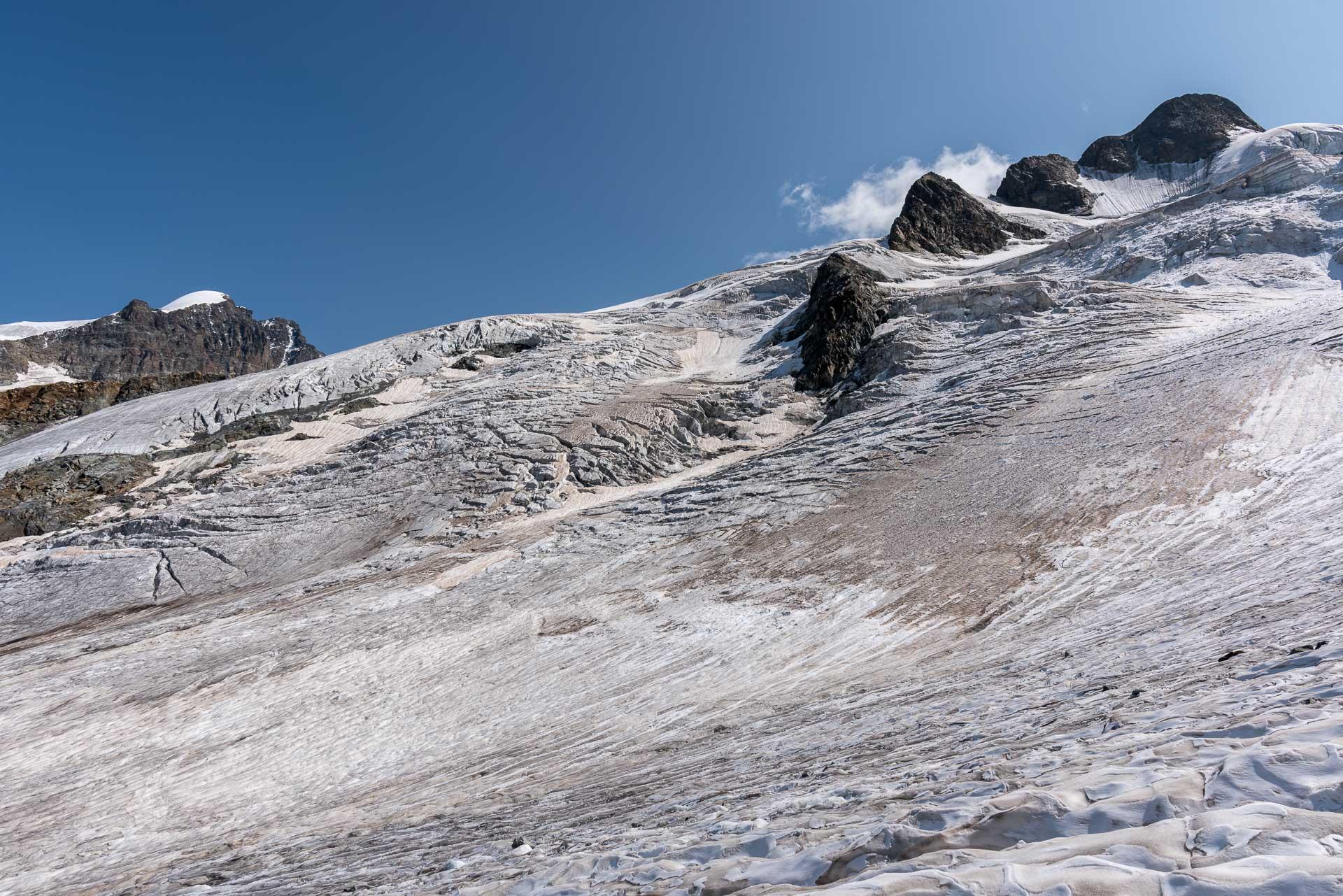 Gletscherstudie für Morgen
