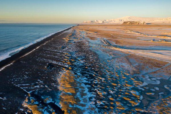 Alles Süsswasser ist gefroren