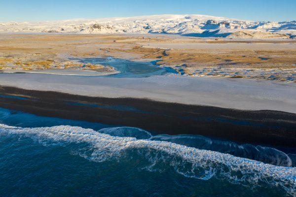 Wolkenlos bis zum Mýrdalsjökull