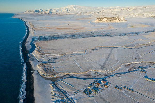 Mið-Hvoll, Klifandi, Eyjafjallajökull