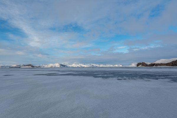 Mýrdalsjökull , Mýrdalsandur, Hjörleifshöfði