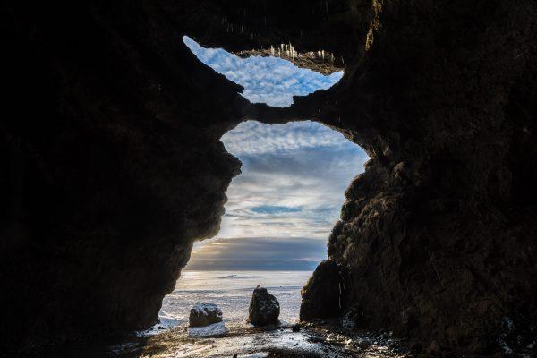 Felsenhöhle Hjörleifshöfði
