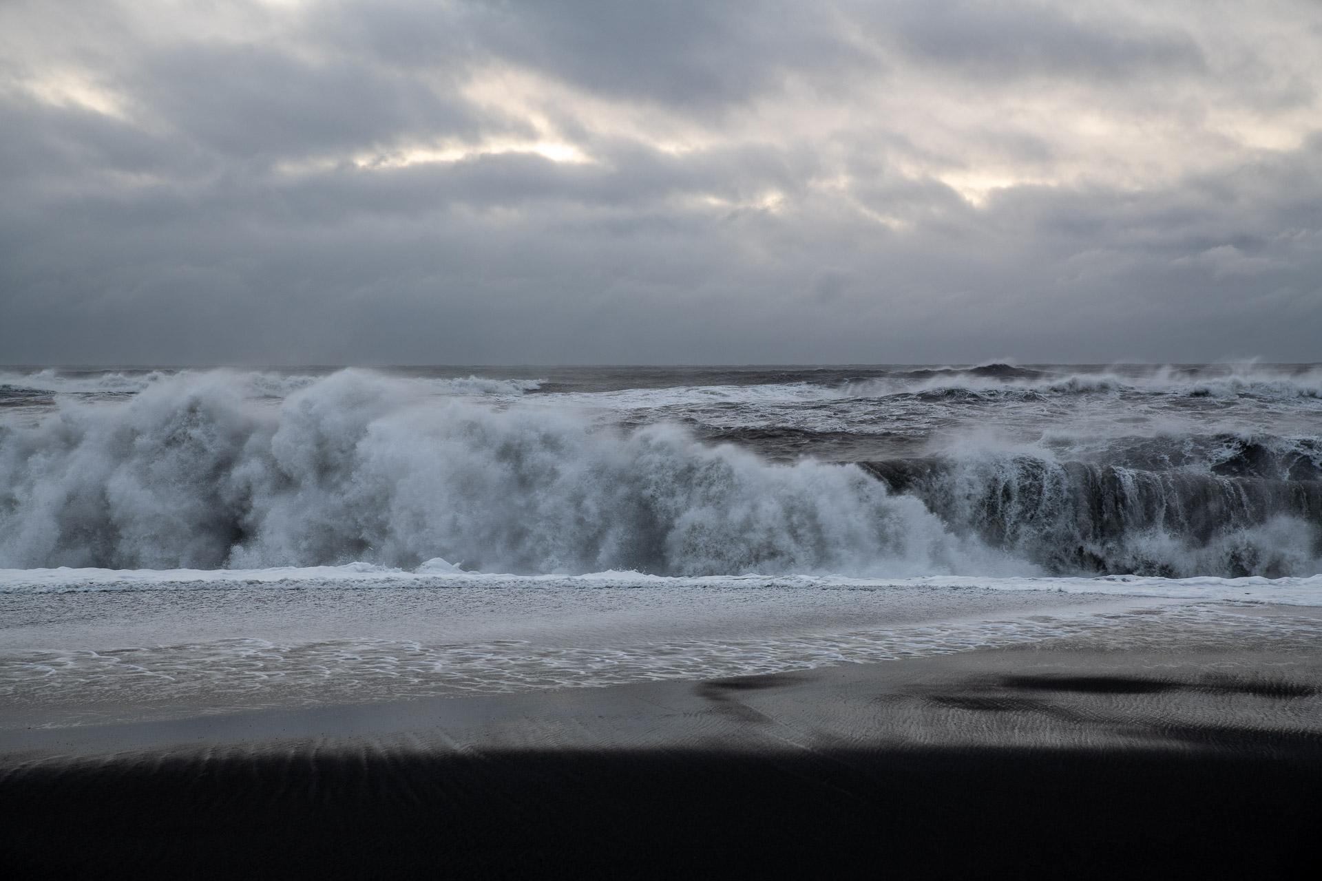 Die Wellen werden grösser