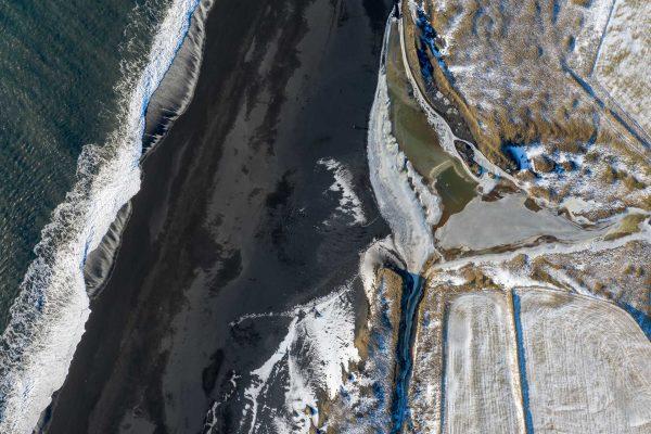 Meer, Sand, Eis und Schnee