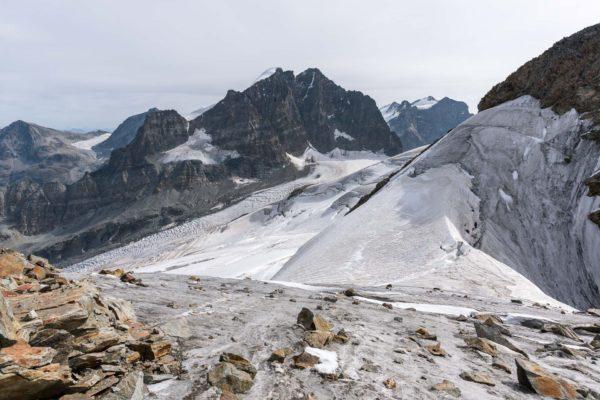 Sattel zwischen den La Sella Gipfeln