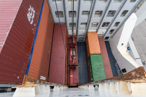 Container verladen