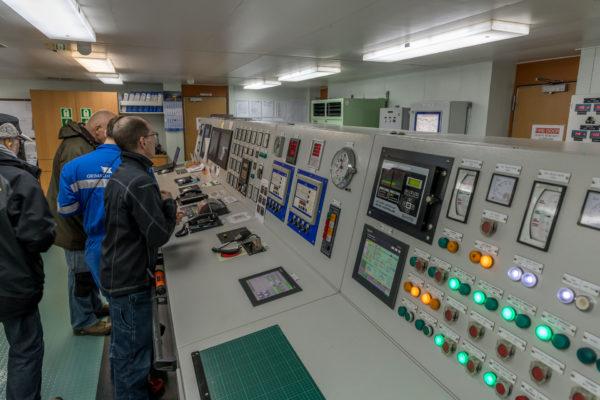 Maschinen Kontrollraum
