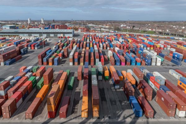 Containerhafen Liverpool