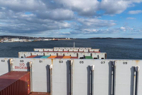 Ausfahrt aus Halifax