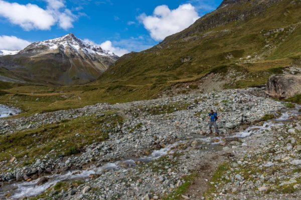 Abstieg ins Val Bever