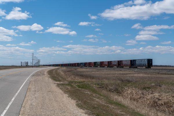 Die Güterzüge in Kanada sind unendlich lang