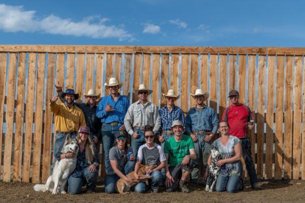 Die Cowboys- und Girls der R. Williams Farm