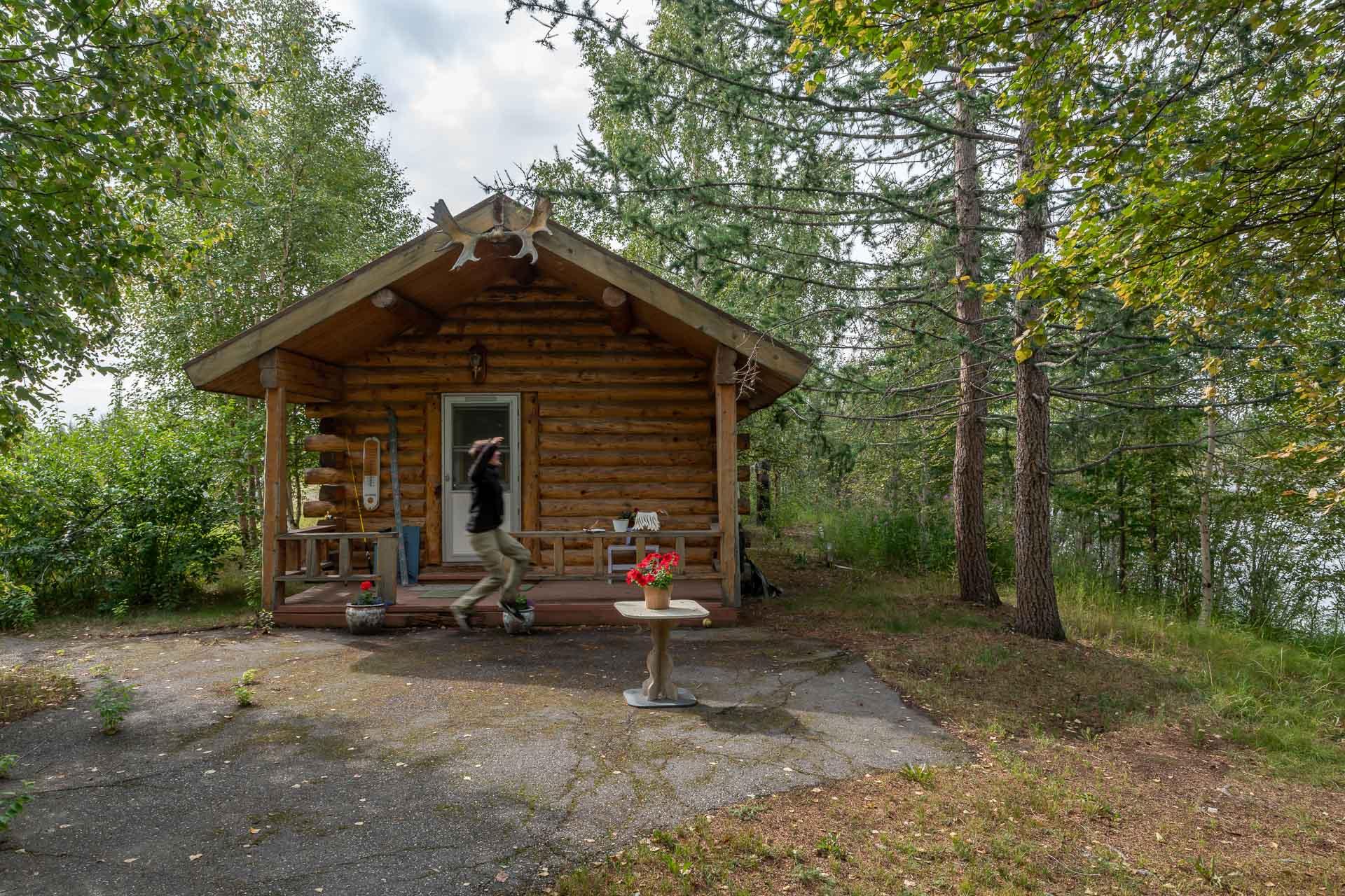Unser Cabin in dem wir übernachten dürfen