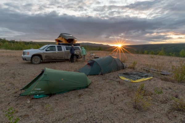 Camp am Dalton Highway