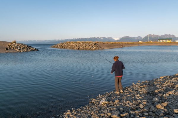 Johann am Fishing Hole