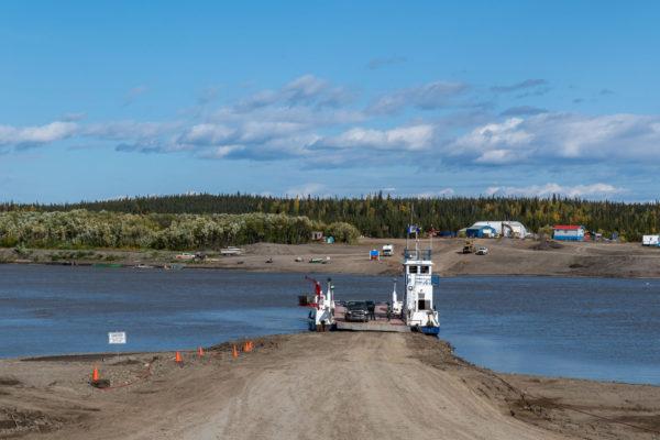 Im Norden gibts Fähren anstelle von Brücken
