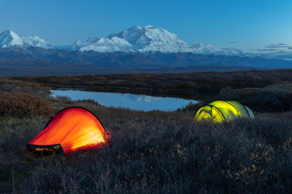 Backcountry Camping im Denali NP