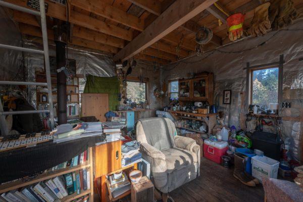 Erdgeschoss des Cabin
