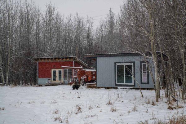 Die Cabins von Christine, Rheta und Reid