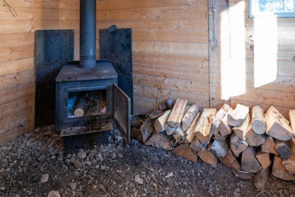 Hidden Cove Kochhütte