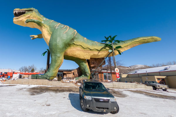 Dinosaurier in Drumheller