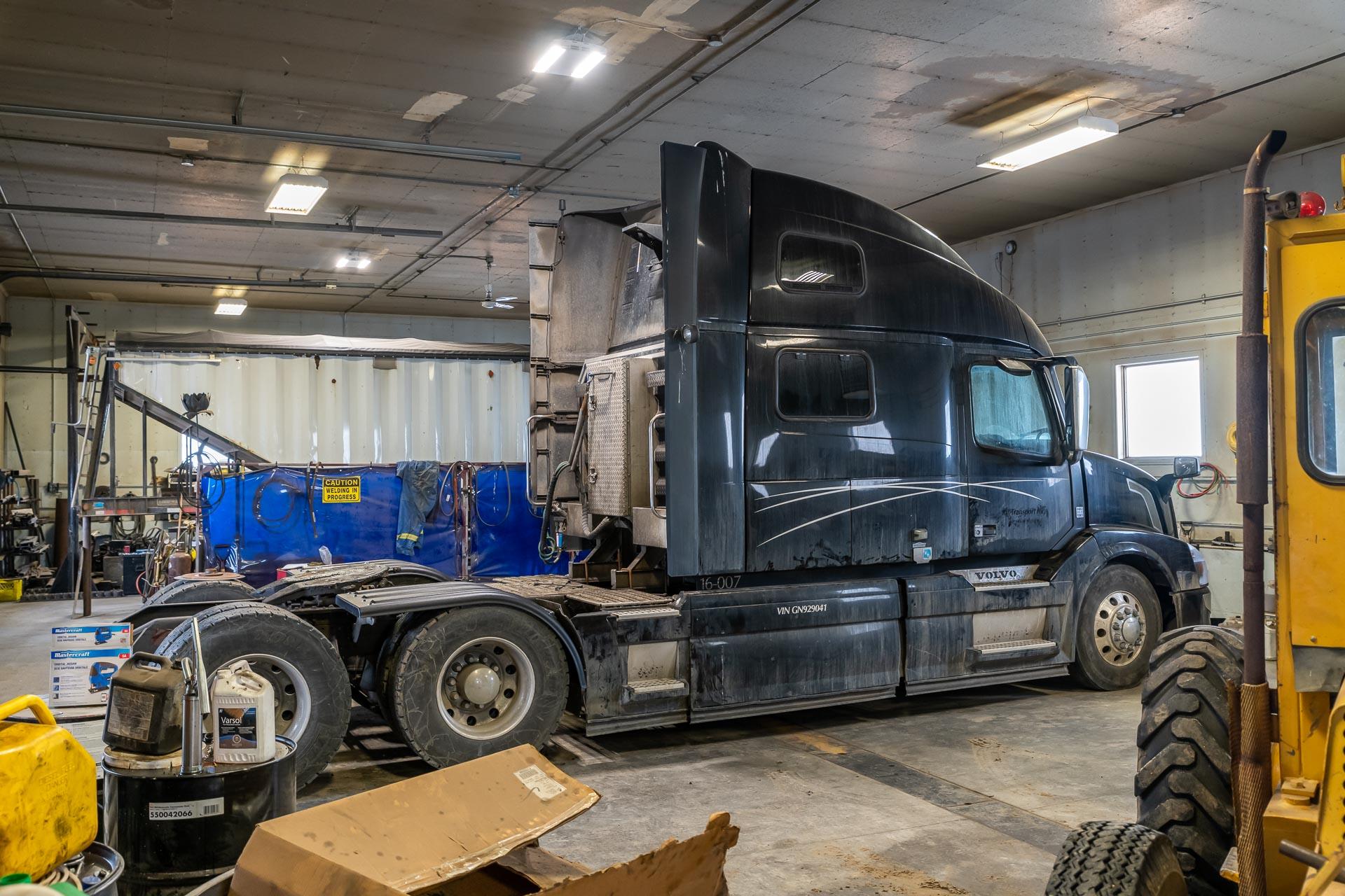 Ein Lastwagen zum reparieren