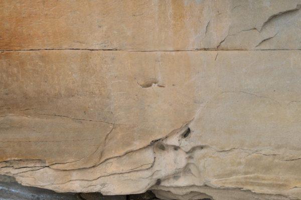 150 Jahre alte Felszeichnungen