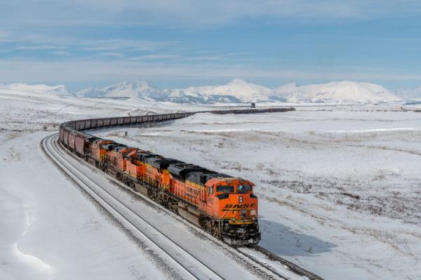 Amerikanischer Güterzug