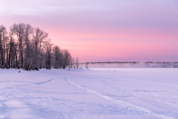 Morgendämmerung am Stuart Lake