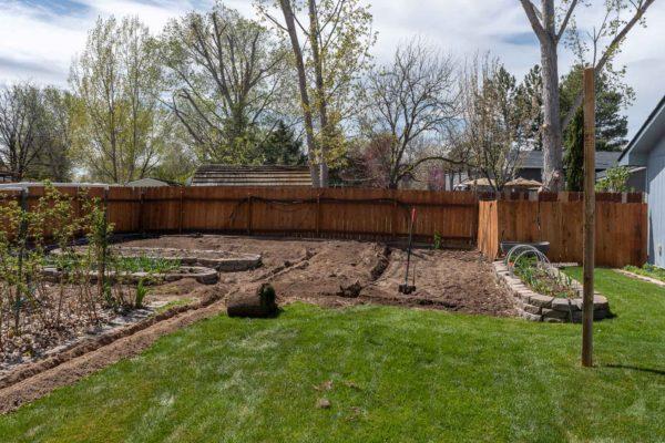 Neugestaltung des Garten
