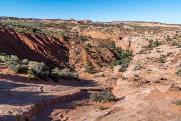 Dry Fork Narrows Slot Canyon