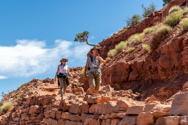 Heidi und Franz auf dem Kaibab Trail