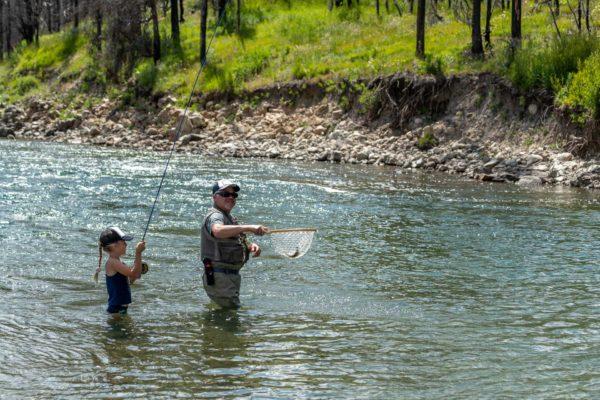 Fischen mit dem Grossvater