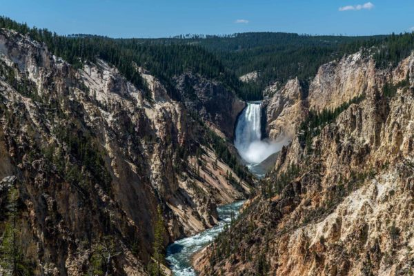 Falls of the Yellowstone River