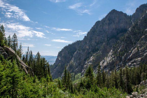 Aufstieg zum Buck Moutian Pass
